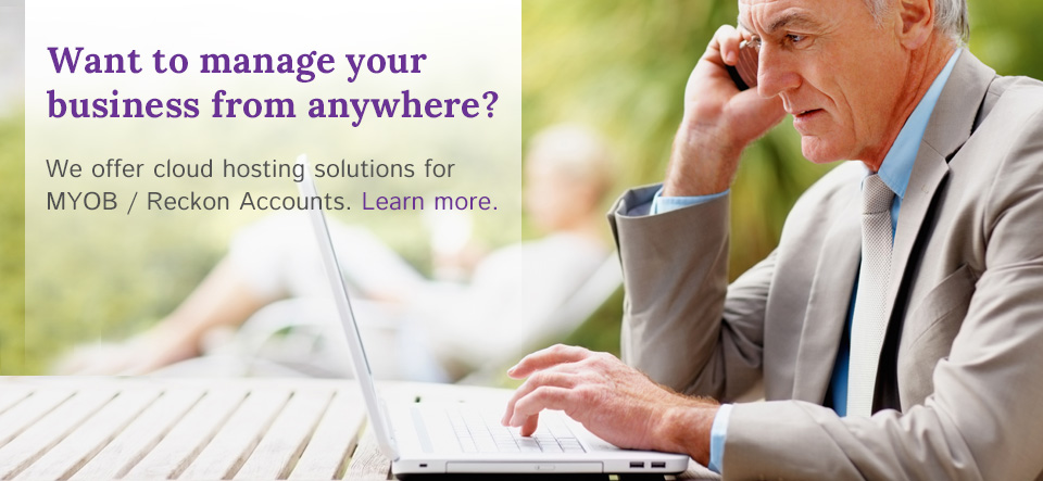 cloud solutions to host MYOB QuickBooks anywhere